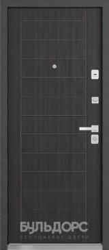 Дверь Бульдорс 44 Черный шелк R-14 Ларче темный N-10