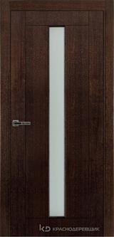 Дверь Краснодеревщик 80 02 Дуб мореный натуральный шпон