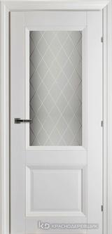 Дверь Краснодеревщик К3 24Ф с фурнитурой, Белый CPL