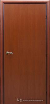 Дверь Краснодеревщик 73 00 с фурнитурой, Бразильская груша натуральный шпон