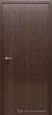 Дверь Краснодеревщик 73 00 с фурнитурой, Дуб кофе натуральный шпон