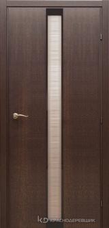 Дверь Краснодеревщик 73 04 с фурнитурой, Дуб кофе натуральный шпон