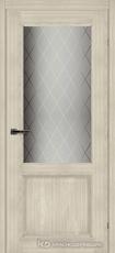 Дверь Краснодеревщик 63 24 с фурнитурой, Ноче соренто CPL
