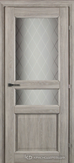 Дверь Краснодеревщик 63 34 с фурнитурой, Дуб пепельный CPL