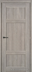 Дверь Краснодеревщик 63 43 с фурнитурой, Дуб пепельный CPL