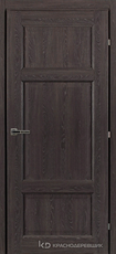 Дверь Краснодеревщик 63 43 с фурнитурой, Дуб шварц CPL