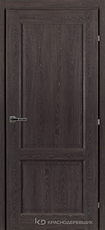 Дверь Краснодеревщик 63 23 с фурнитурой, Дуб шварц CPL