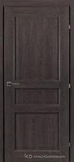 Дверь Краснодеревщик 63 33 с фурнитурой, Дуб шварц CPL