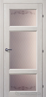 Дверь Краснодеревщик 63 42 с фурнитурой, Пиния ламинат