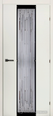 Дверь Краснодеревщик 50 04 (стекло матрица) с фурнитурой, Белый CPL