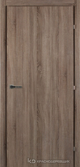 Дверь Краснодеревщик 50 00 с фурнитурой, Сонома ламинат