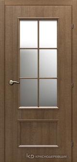 Дверь Краснодеревщик 50 24 с фурнитурой, Дуб риэль CPL