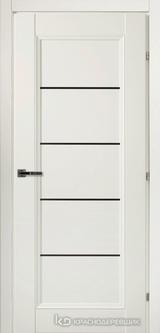 Дверь Краснодеревщик 33 52Ф с фурнитурой, Белый CPL
