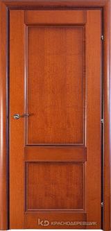 Дверь Краснодеревщик 33 23 с фурнитурой, Бразильская груша натуральный шпон