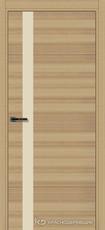 Дверь Краснодеревщик 7 01 (стекло Лакобель жемчужно-белый) с фурнитурой, Дуб натуральный sincrolam