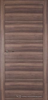 Дверь Краснодеревщик 7 00 с фурнитурой, Дуб темный sincrolam