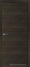 Дверь Краснодеревщик 7 00 с фурнитурой, Дуб Шварц sincrolam