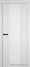 Дверь Краснодеревщик 704 (стекло белое) с фурнитурой, натуральный шпон Эмаль белая