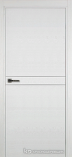 Дверь Краснодеревщик 706 (молдинг) с фурнитурой, натуральный шпон Эмаль белая