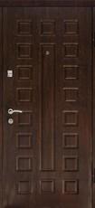 Дверь Дверной континент ЛЮКС Венге  Беленный дуб