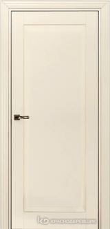 Дверь Краснодеревщик 73 1 с фурнитурой, Эмаль жемчужная MDF