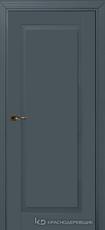 Дверь Краснодеревщик 731 с фурнитурой, MDF Эмаль серая