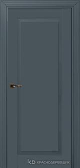 Дверь Краснодеревщик 73 1 с фурнитурой, Эмаль серая MDF