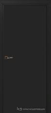 Дверь Краснодеревщик 730 с фурнитурой, MDF Эмаль черная
