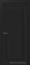 Дверь Краснодеревщик 731 с фурнитурой, MDF Эмаль черная