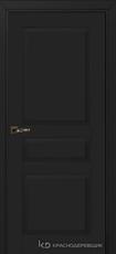 Дверь Краснодеревщик 733 с фурнитурой, MDF Эмаль черная