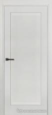 Дверь Краснодеревщик 741 с фурнитурой, натуральный шпон Эмаль белая