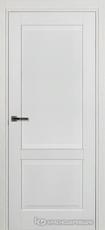 Дверь Краснодеревщик 742 с фурнитурой, натуральный шпон Эмаль белая