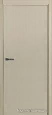 Дверь Краснодеревщик 740 с фурнитурой, натуральный шпон Эмаль жемчужная
