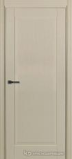 Дверь Краснодеревщик 741 с фурнитурой, натуральный шпон Эмаль жемчужная