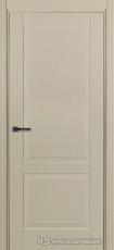 Дверь Краснодеревщик 742 с фурнитурой, натуральный шпон Эмаль жемчужная