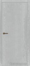 Дверь Краснодеревщик 740 с фурнитурой, натуральный шпон Эмаль светло-серая