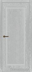 Дверь Краснодеревщик 741 с фурнитурой, натуральный шпон Эмаль светло-серая