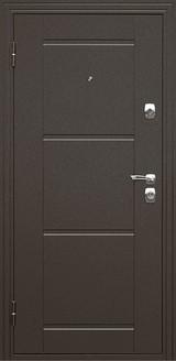 Дверь Дверной континент Эстет Коричневый муар  Дуб светлый